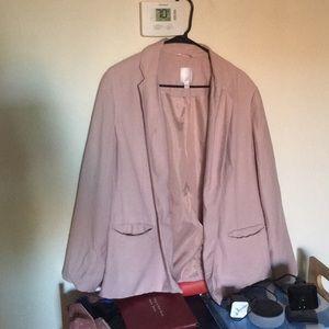 Lauren Conrad light pink blazer